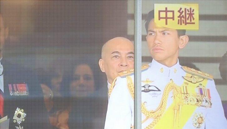 マティーン王子(即位礼正殿の儀)の画像は?白い軍服のイケメンだ